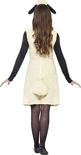 Imagen de smiffy's  disfraz de shaun la oveja con vestido y diadema, color blanco 20605s  alternativa