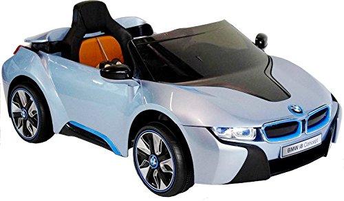 Elektro Kinderauto Elektrisch Ride On Kinderfahrzeug Elektroauto Fernbedienung - BMW i8 - Blau