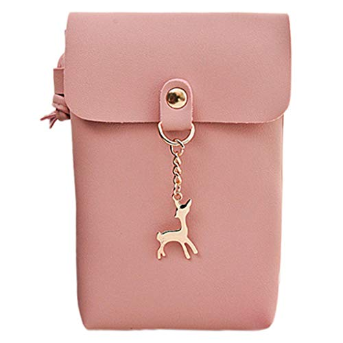 BDToy Women Messenger Bags Fashion Mini Bag Deer Toy Shell Shape Bag Shoulder Bags