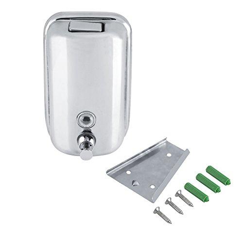 Zimmer Sanitizer (Seifenspender Pumpe Wandmontage Dusche Bad Shampoo Sanitizer Flüssigkeit Box Set Badezimmer Waschraum Sanitizer Dispenser Lotion Container 800 ml / 1000 ml(#1))