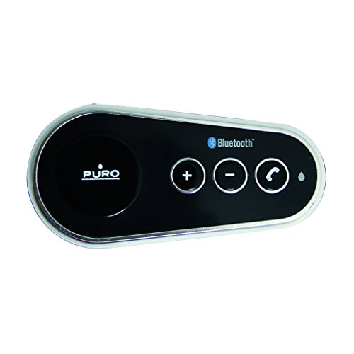 Puro Vivavoce auto Bluetooth 3.0 Plug & Play Car Kit...