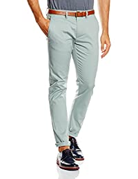 SELECTED HOMME Herren Hose Shhyard Slate Gray Slim St Pants