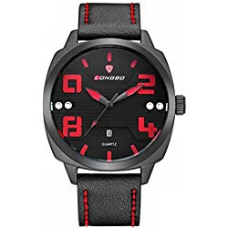 LONGBO Large watch sports waterproof men 's watches fashion casual men watch quartz watch