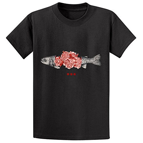 to-bloom-not-bleed-ii-boys-crew-neck-graphic-shirts-m-130