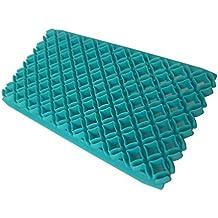 SUDOOK 2 moldes para decoración de tartas de fondant con estampado de chocolate para tartas,