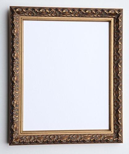 Tailored Frames-Vienna Gold, Vintage Shabby Chic Bilderrahmen Größe A4 Gold Stand