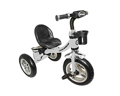 f308f57060c Ride On Pedal Tricycle Foldable Children Kids Smart Design 3 Wheeler Metal  Frame Bell Bikes, ...