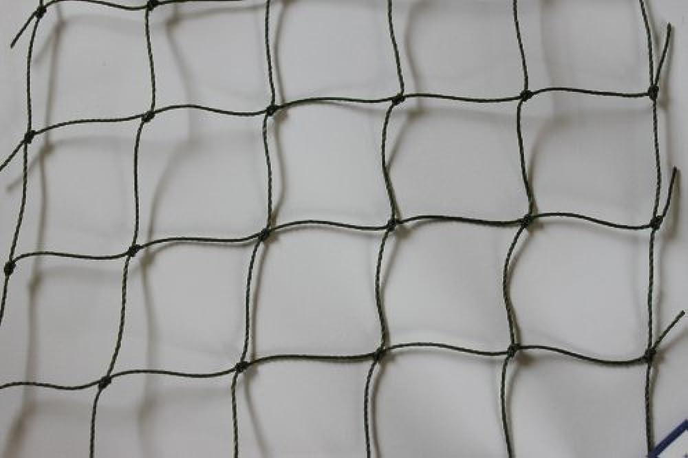 Volierennetz - Tiergehege - Netz - oliv - Masche 5 cm - Stärke: 1, 2 mm - Größe: 5, 00 m x 40 m