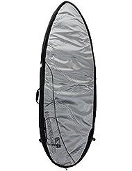 Océan et Terre Poisson Large sac de surf double 10mm 1,8m 4–Surf Argent