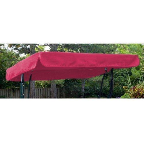Wasserabweisendes 2er Ersatz Baldachin nur für Hollywoodschaukel/Gartenschaukel, Cerise Pink