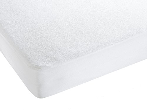"""ZOLLNER® wasserundurchlässige Matratzenauflage 90x200 cm, in vielen Größen und unterschiedlicher Befestigungart erhältlich, vom Hotelwäschespezialisten Serie """"Basic-Care"""""""