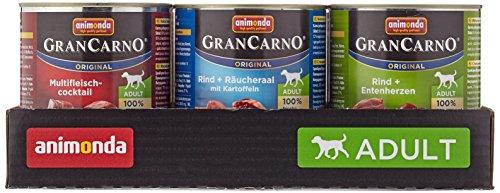 Animonda Gran Carno Hundefutter Adult Probierpack Adult Mix 2 (6 x 800 g) - 4