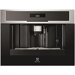 Electrolux EBC54524OX Machine à café encastrable, 1350 W, 1.8 liters, Noir/Acier Inoxydable