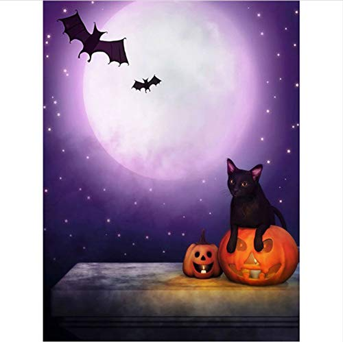 iamant malerei Happy Halloween 3D kreuzstich Diamant Stickerei mosaik diamanten wandaufkleber Home Decor 40x50cm ()