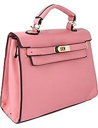 Kleio Solid Color Designer Formal Handbag