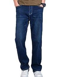 QK-Lannister Pantaloni Elastici da Uomo Pantaloni Larghi E Ragazzo  Confortevoli da Uomo Pantaloni A 92c8e588fd76