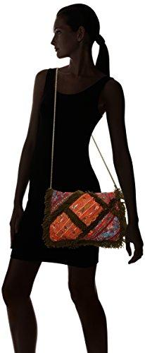 Antik Batik - Chubba Wallet, Borse organizer portatutto Donna Verde (Kaki)
