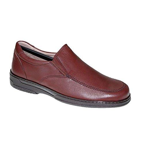 Primocx Zapato Hombre Gomas Especial Para Diabéticos Extra Cómodo EN Marrón Talla 39
