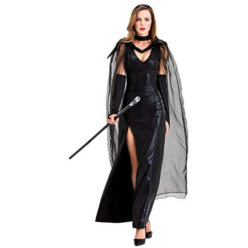 Kostüm College Top Mädchen - LOVCRY Halloween Erwachsene Horror Kostüm Hexenteufel Kleidung Maskerade Sexy Kleid (L)