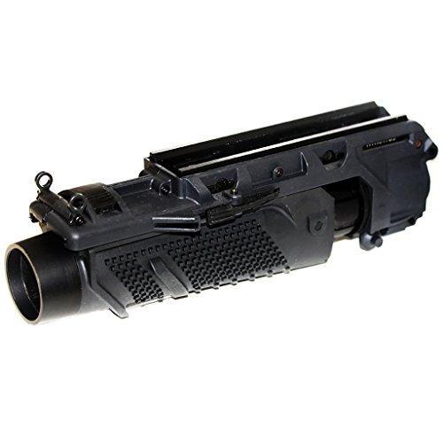 Airsoft Softair Ausrüstung EGLM 40mm SCAR Granaten Grenade Launcher Schwarz