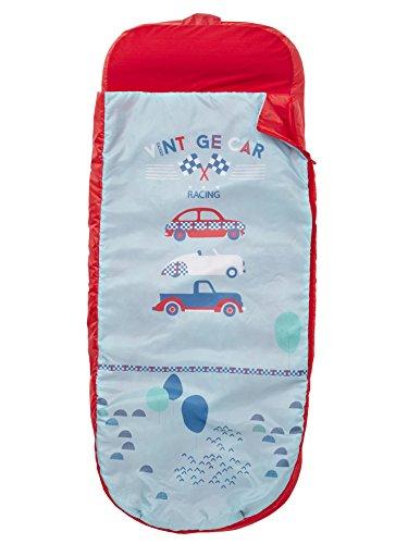 Vertbaudet Kinderschlafsack mit Luftmatratze Autos rot/blau autos 0