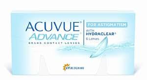 Acuvue Advance for Astigmatism 2-Wochenlinsen weich, 6 Stück / BC 8.6 mm / DIA 14.5 / CYL -0.75 / Achse 20 / -4.25 Dioptrien