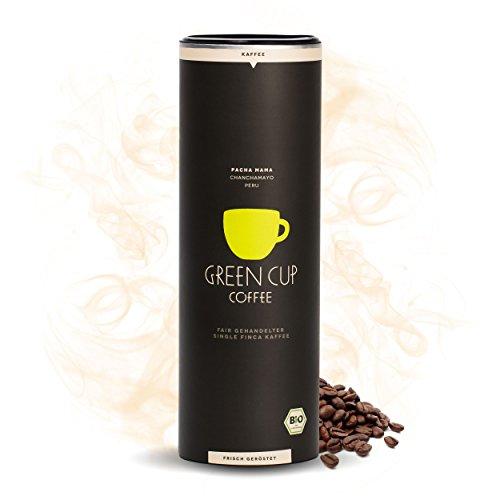 Green Cup Coffee Pacha Mama - der Hochlandkaffee aus Peru - sortenreine Fairtrade Kaffeebohnen - der...
