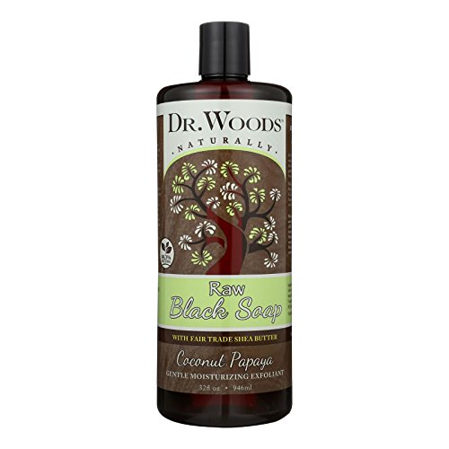 Dr. Woods Naturals Black Soap - Shea Vision - Coconut - 32 oz by Dr. Woods