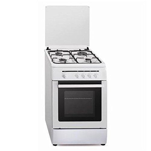 Vitrokitchen CB55BB - Cocina (53 L, 1800 W, propano/butano, Gas, Giratorio, Frente)...
