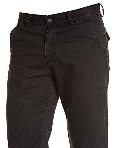 BLZ jeans - Jean homme droit noir décontracté Noir