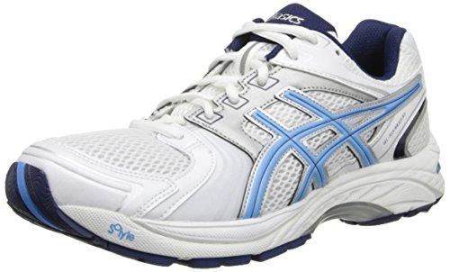 Asics Gel-Tech Walker Neo 4 Herren Weiß Laufschuhe Neu EU 39,5 (Walker Breiten Schuhe)
