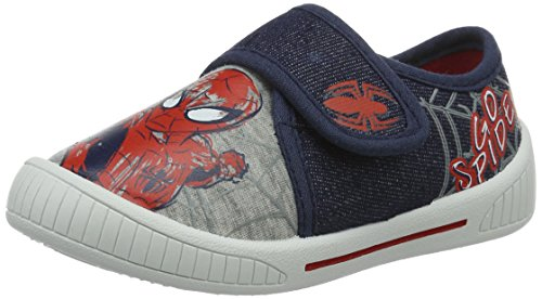 spiderman-sp003493-chaussons-mules-garcon-blau-lgrey-mblue-navy-657-26-eu