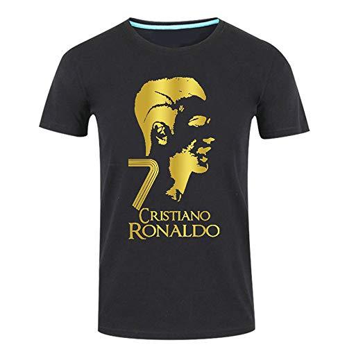 CR7 T-Shirt Kurzarm Männer Und Frauen Jugendliche Studenten Fußball Kleidung Sport Lässige Kurzarm