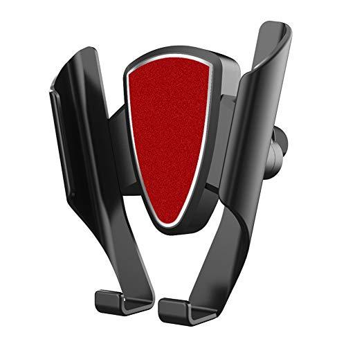 AIUIN Handyhalterung Auto KFZ Smartphone Halterung Armaturenbrett Windschutzscheibe Handy Halter für Auto Handyhalter fürs Auto für alle Handys,Wie iPhone,Galaxy,HTC,LG oder GPS (Rot) (Neue Handys Lg)