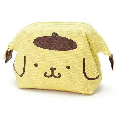 Neue Miezekatze Yugui Hund Leinwand Reise Aufbewahrungstasche ändern Tasche Hand nehmen Münzen lose Brieftasche Pudding Hund (Bettdecken Zwilling-jungen)