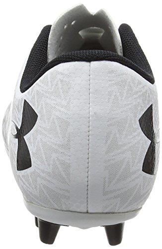 Under Armour Unisex-Kinder Ua Cf Force 3.0 Fg-r Jr Fußballschuhe Weiß (White 100)