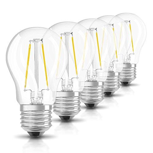 Osram Retrofit Cl P 25 Bombilla LED, E27, 2 watts, Blanco,