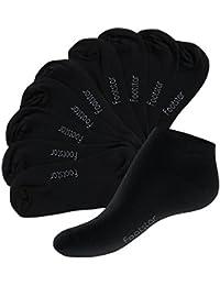 Original footstar SNEAK IT! Sneaker Socken für Sie und Ihn - Größen 35-50 - Viele trendige Farben - 10 Paar