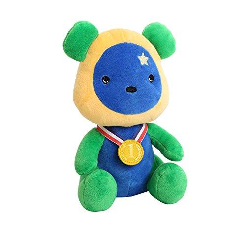 Black Temptation Lovely Puppe gefüllte Spielzeug Bär Puppe Spielzeug Großes Geschenk, Brasilien Goldmedaille