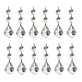 Kristall-Tropenhänger für Kronleuchter von Aiskaer, 12 Stück