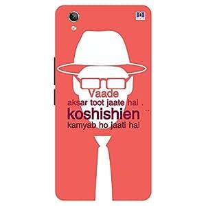 Koshishien - Mobile Back Case Cover For Vivo Y 51L
