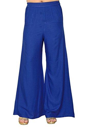 Ali Colours Rayon Plazo Pant for Women
