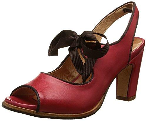 NeosensAltesse 468 - Scarpe con Tacco Donna , Rosso (Rouge (Scarlet)), 39