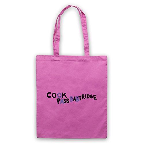 Inspiriert durch Alan Partridge Cook Pass Babtridge Cock Piss Partridge Car Graffiti Inoffiziell Umhangetaschen Rosa