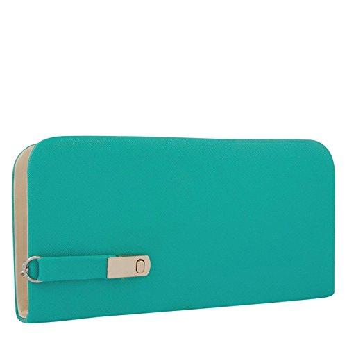 Awesome-Fashions-Aqua-Green-Womens-Wallet
