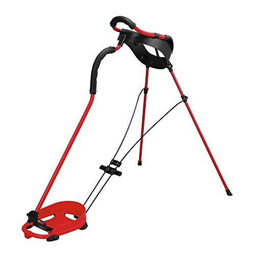 2015 Wilson Nexus II Stand Bag Mens Golf Carry Bag 5-Way Divider Grey/Red/White