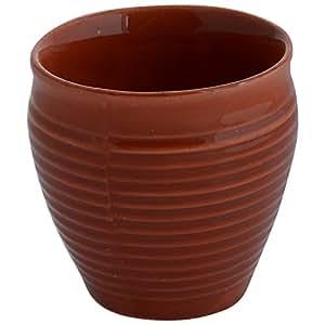 Somny Multi Colour Ceramic Coffee/Lemon Tea Cup(Kulhar) 6 Pieces, 150 Ml
