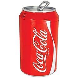 Coca-Cola CC12 Elektrischer Kühlschrank, Unisex, Erwachsene, Rot