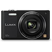 Panasonic Lumix DMC-SZ10EB-K 16 MP 12x Optical Zoom Compact Digital Camera - Black