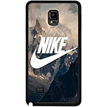 Mountain Background Design Nike Phone caso Cover for Funda Samsung Galaxy Note 4 Just Do It Luxury Design